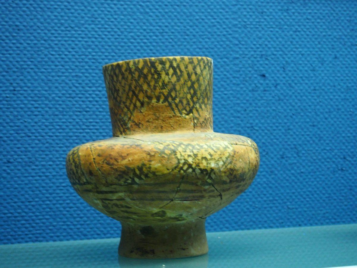 彩陶壶形器