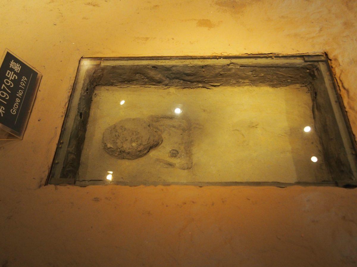 金沙遗址·墓穴