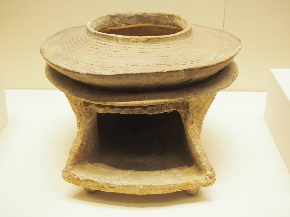 红陶釜、灶