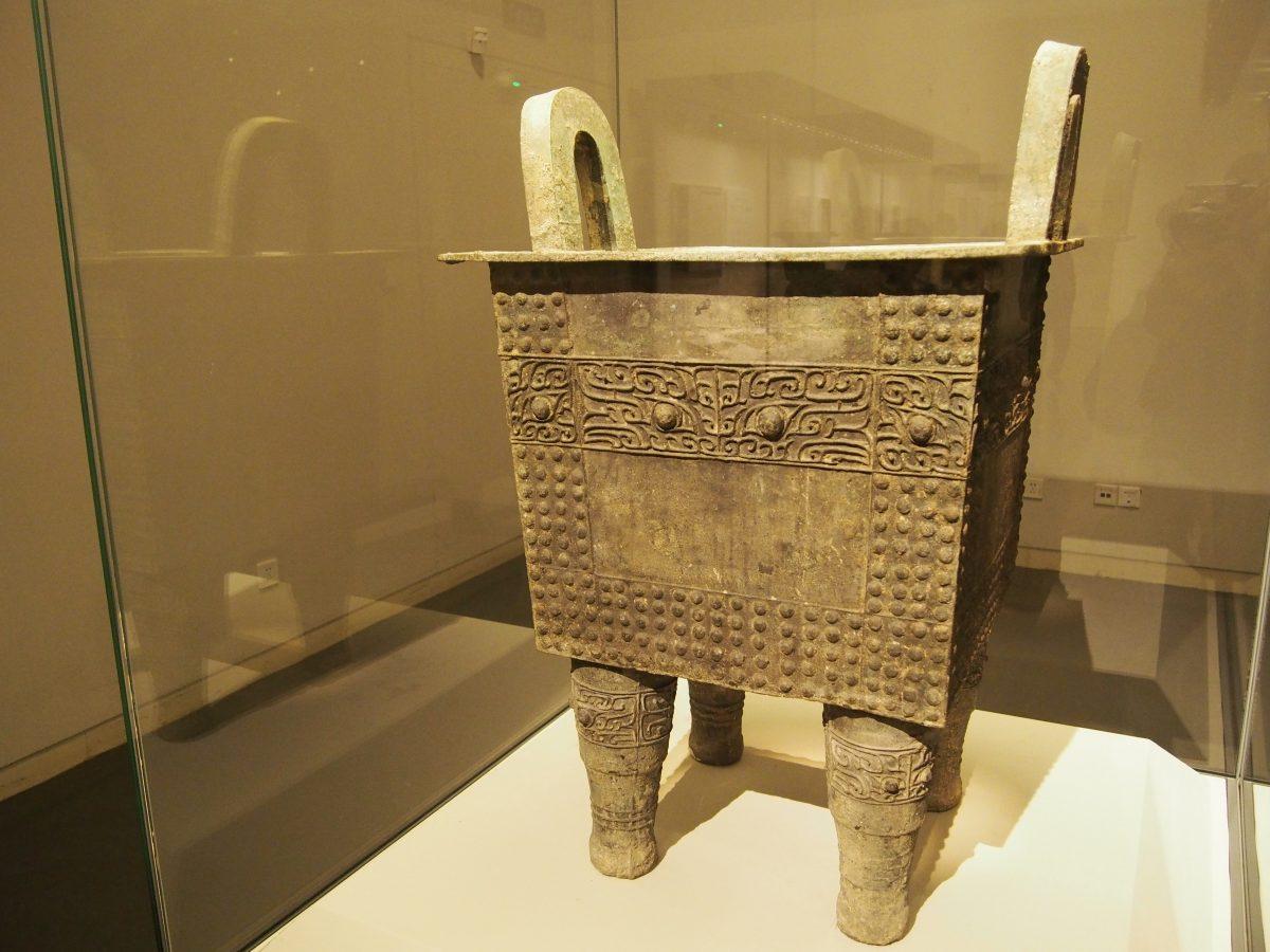 商代前期青铜鼎