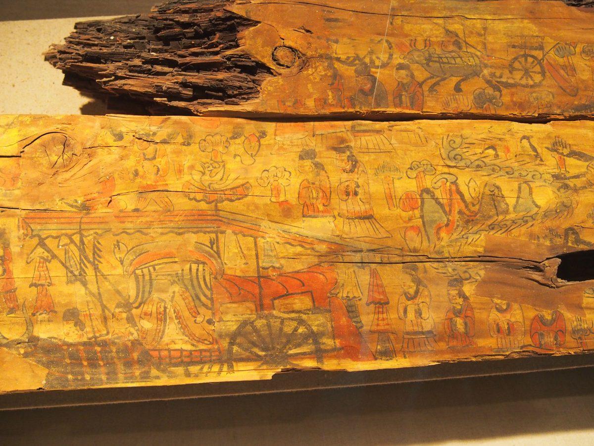 司马金龙墓棺板画