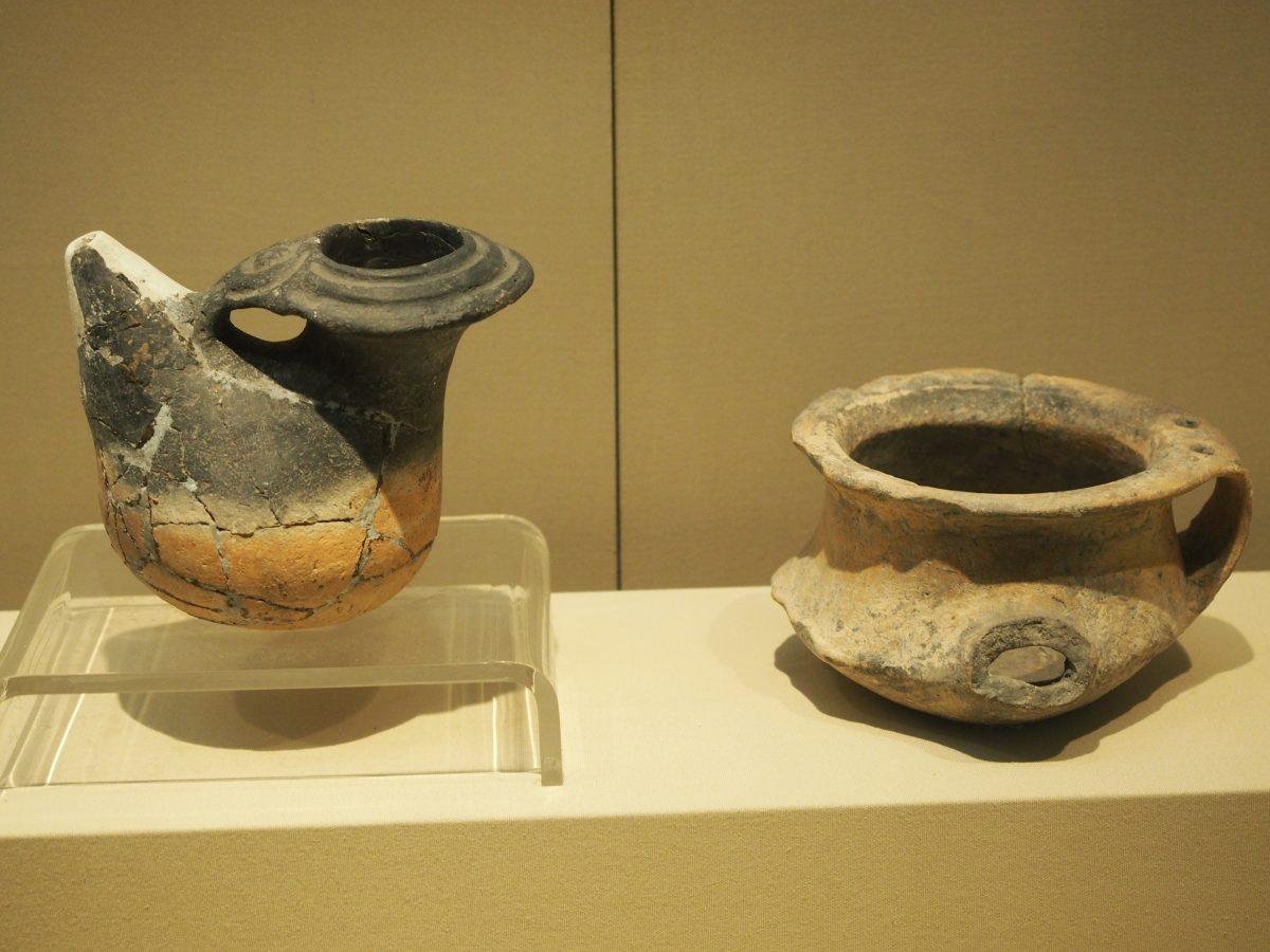 马家浜文化·陶盉、陶罐