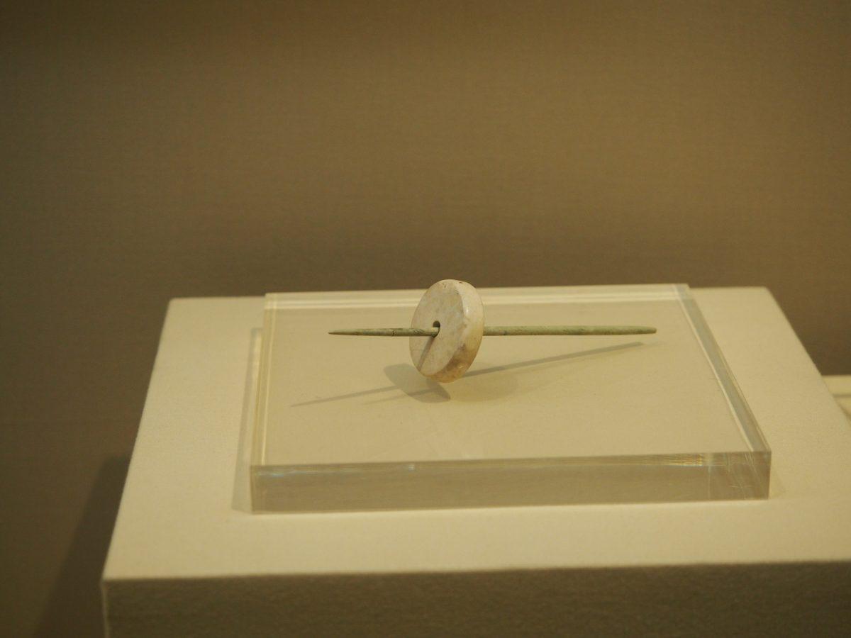 良渚文化·玉纺轮