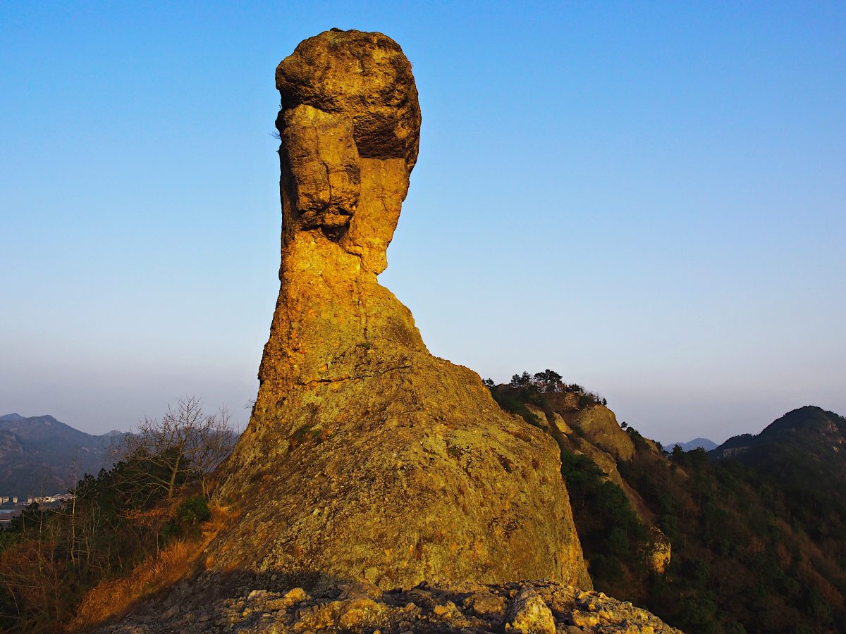 浙江·台州·温岭·石夫人·山峰·奇石