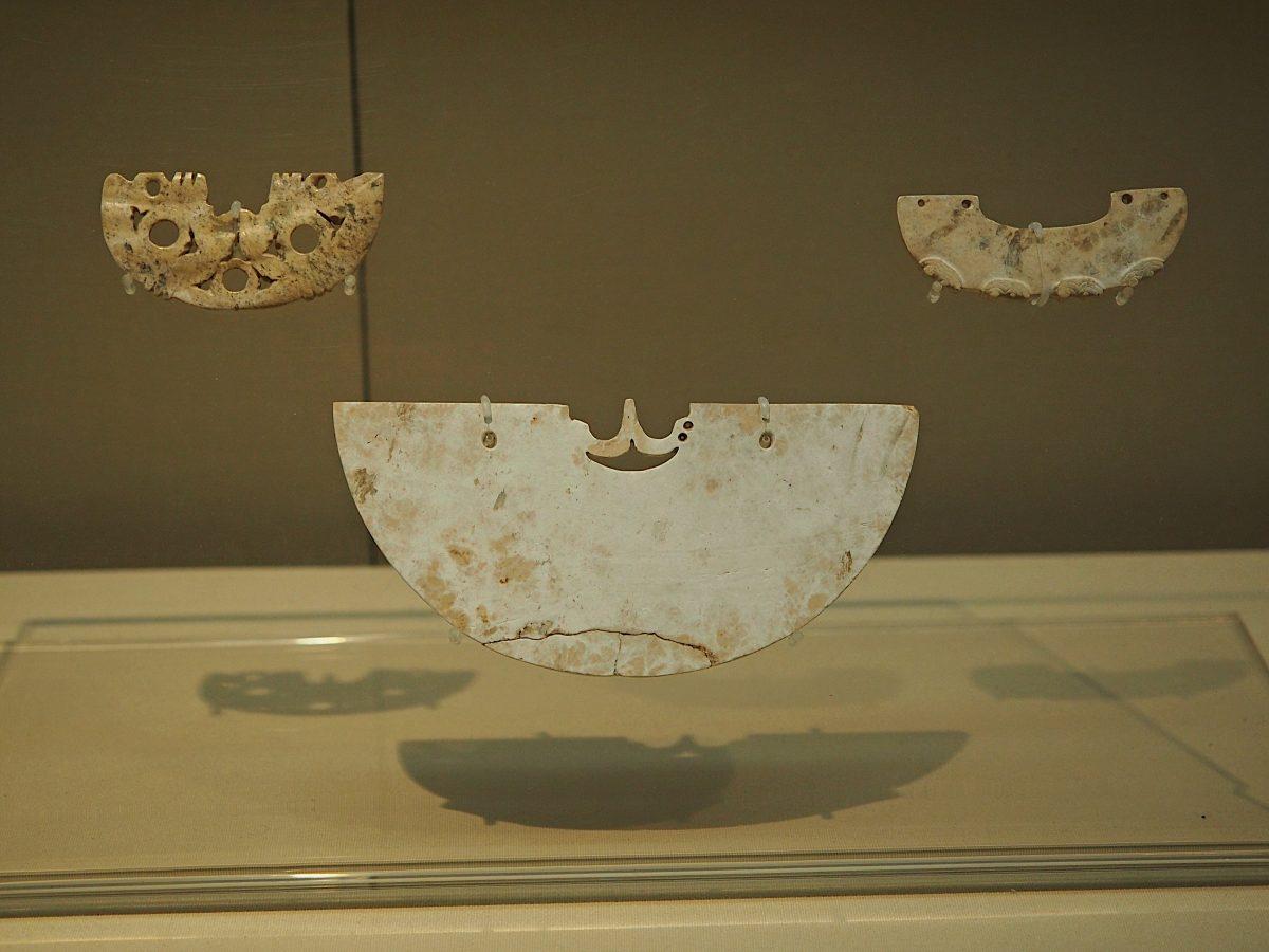 浙江省博物馆·良渚文化·玉璜·余杭瑶山遗址M11:83