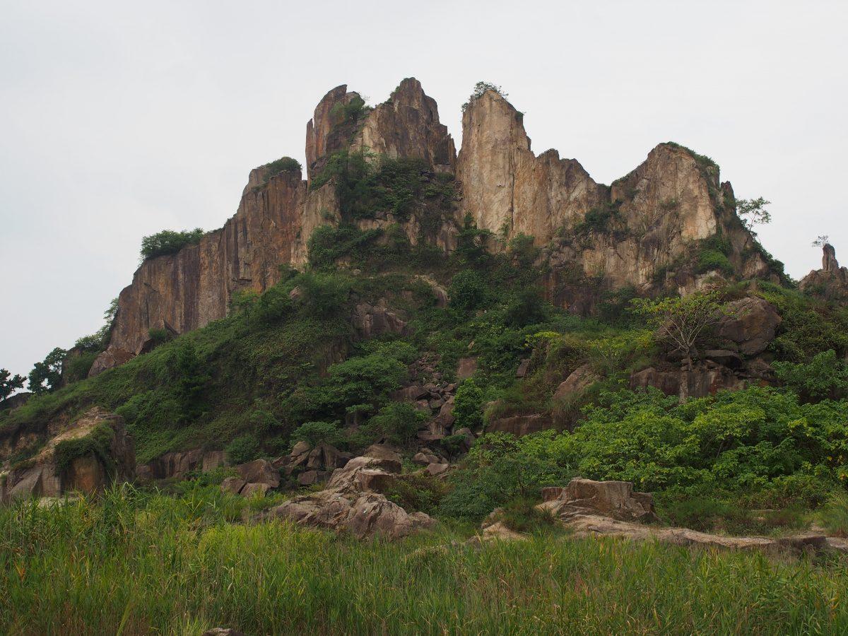 浙江·绍兴·齐贤·羊山石城