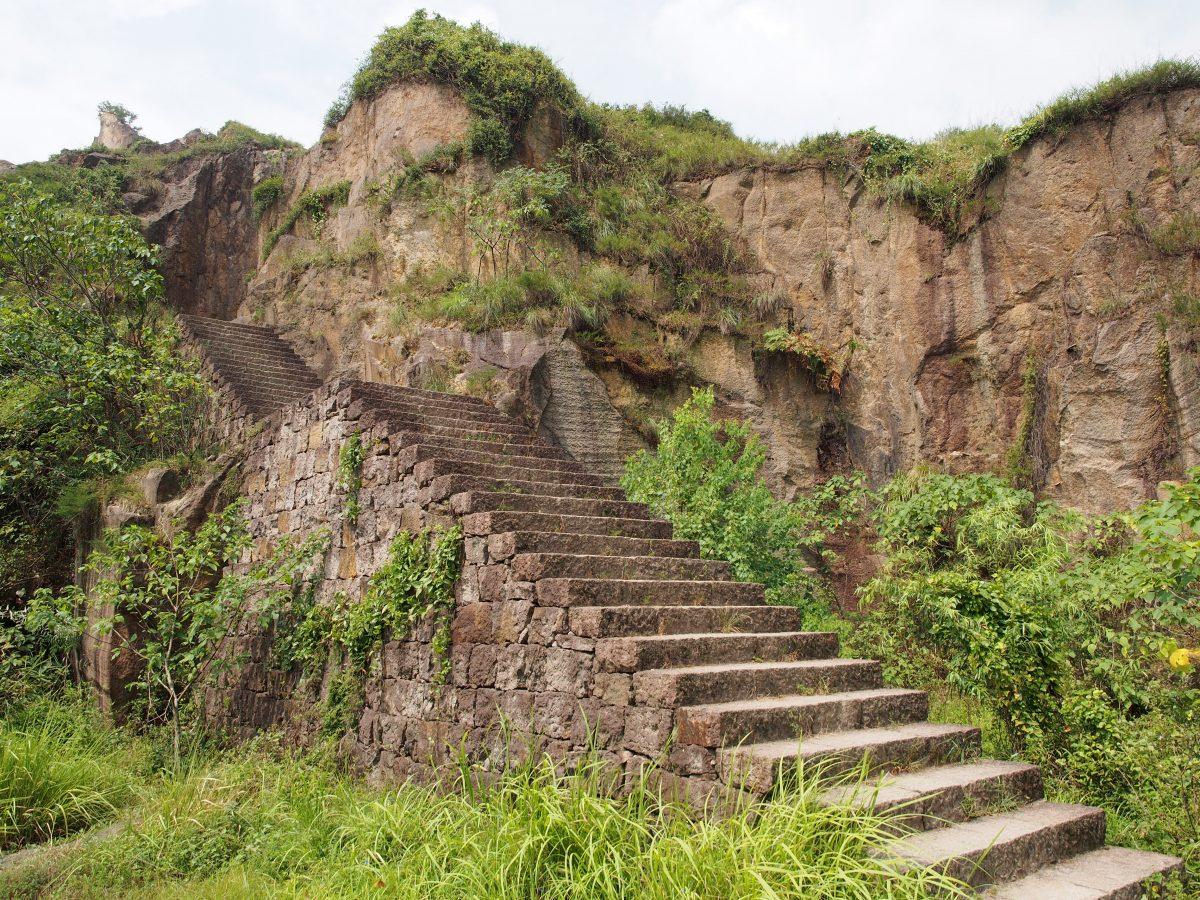 羊山石城·石阶