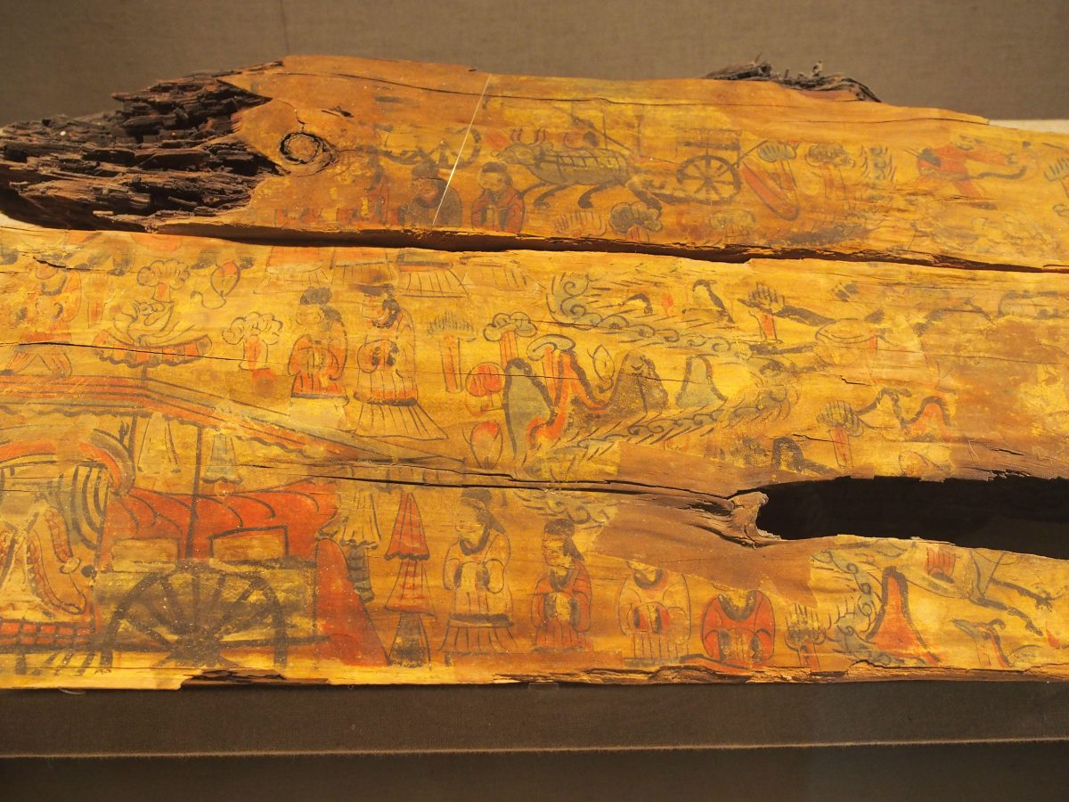山西博物院—虞弘墓石椁&娄睿墓壁画等北朝文物