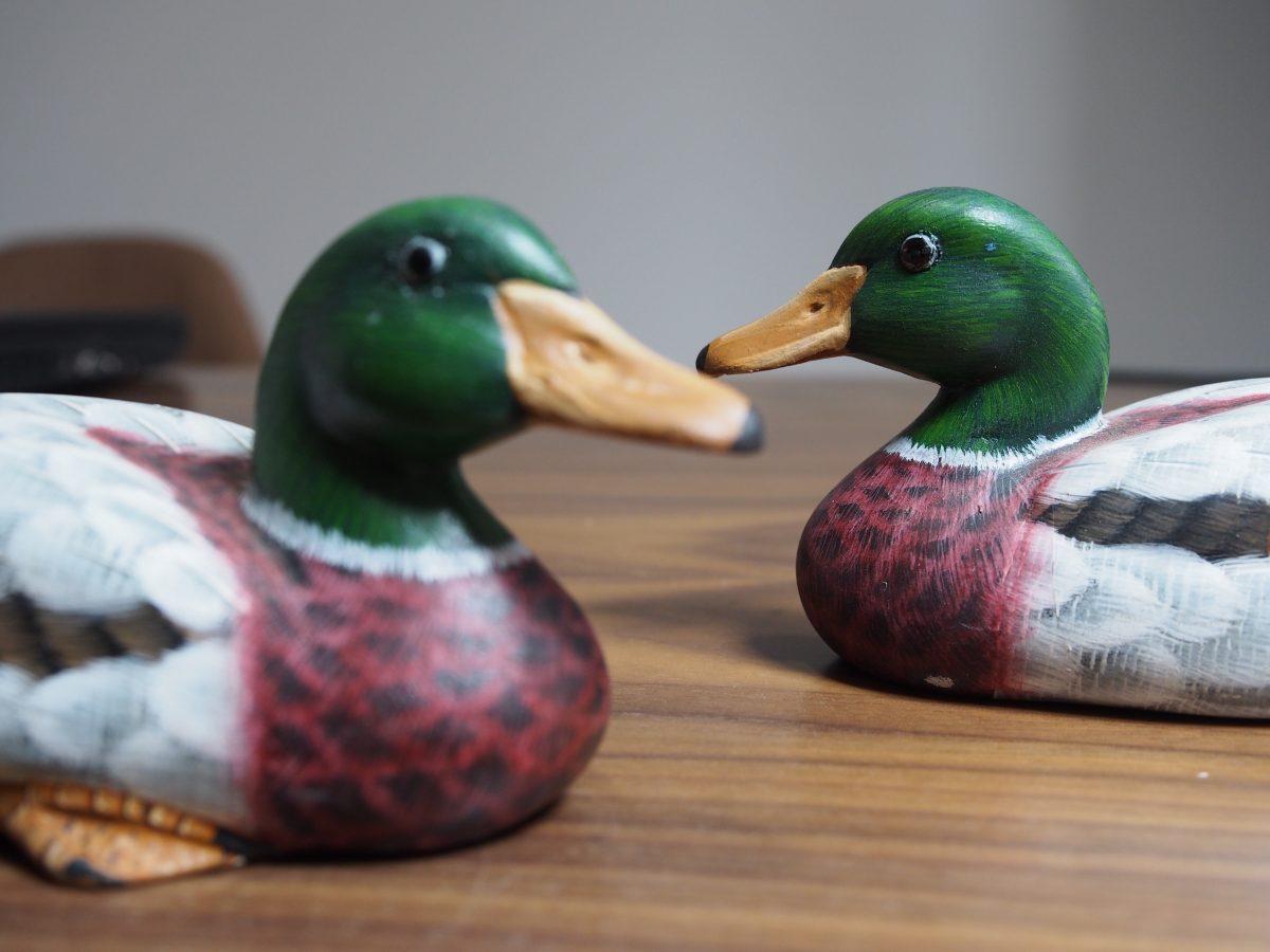 福建·手工艺品·家居摆件·福州脱胎漆器·小动物·鸭子