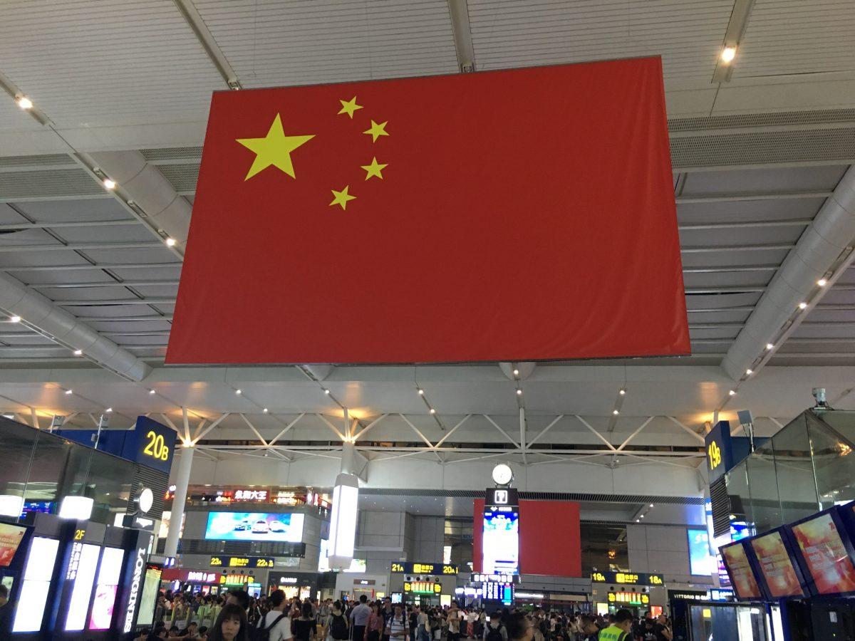 上海虹桥站·国庆
