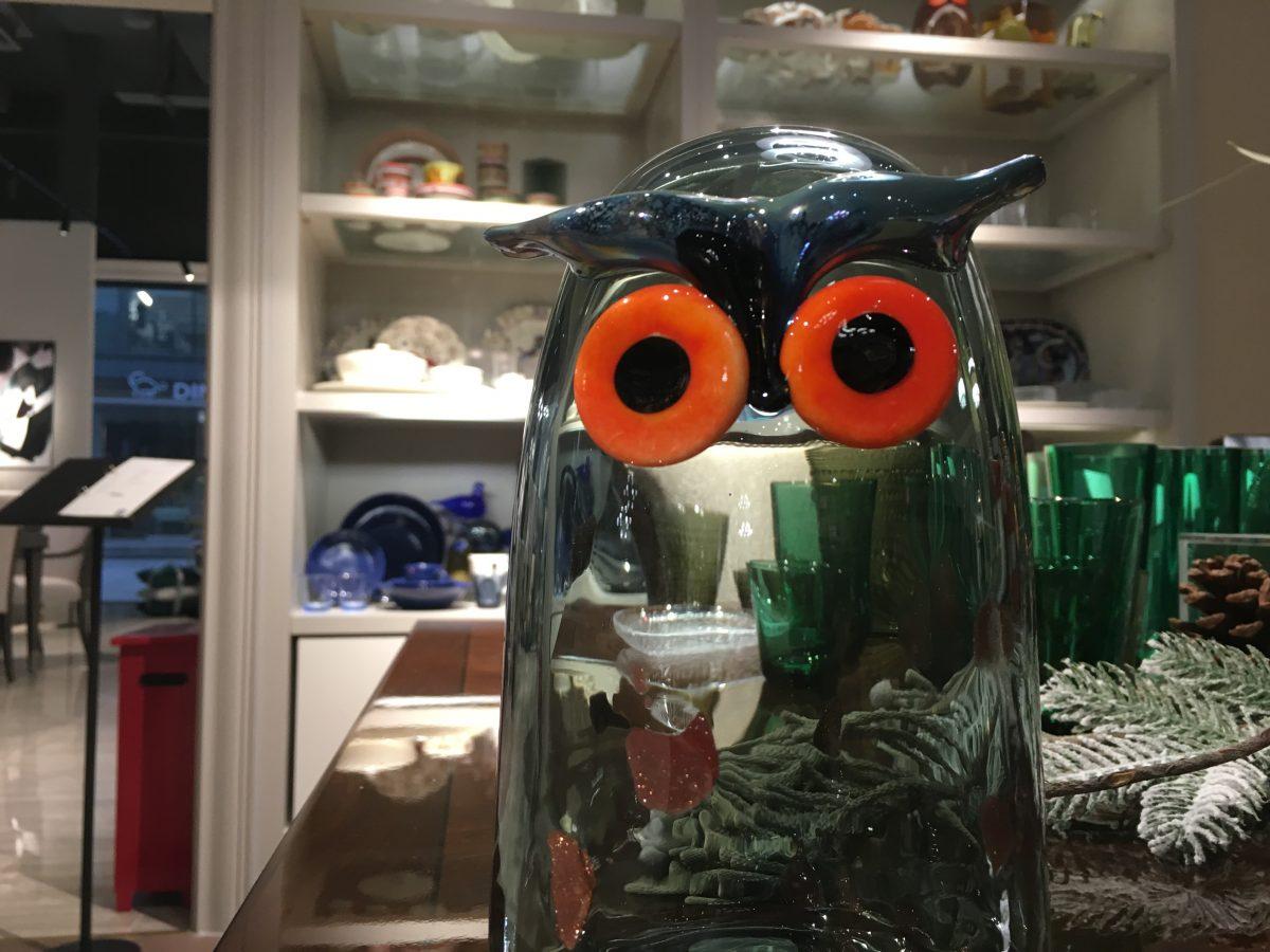 iittala 玻璃鸟·猫头鹰
