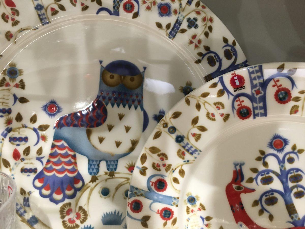 iittala·瓷器·Taika魔幻森林系列·猫头鹰餐盘