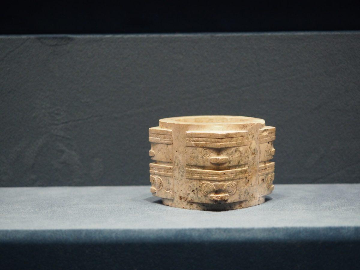 浙江省文物考古研究所·反山遗址·神人兽面纹玉琮
