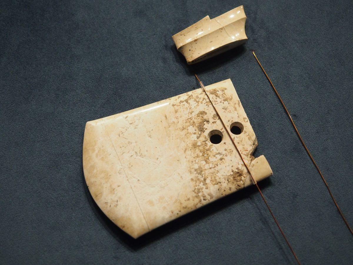 良渚博物院·玉钺·反山遗址M14:177·钺身、冠饰