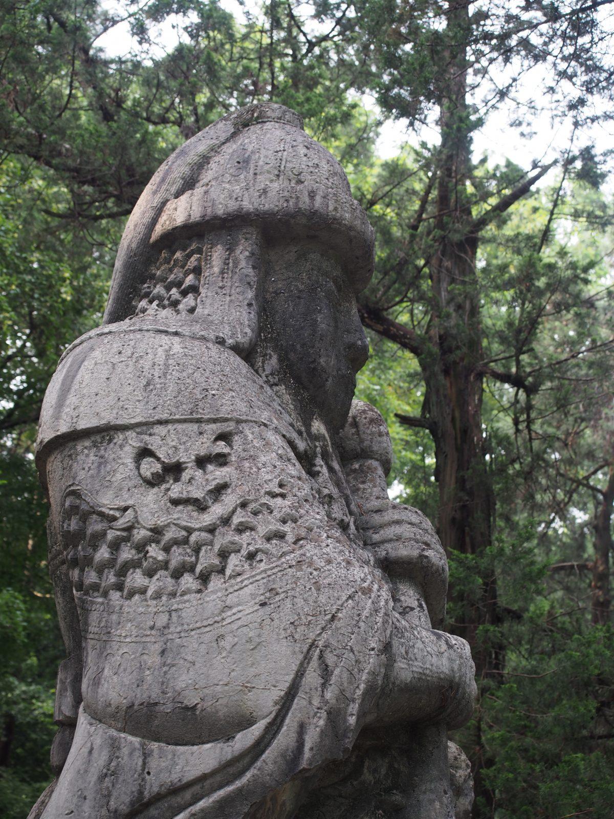 明孝陵·石像生·武将