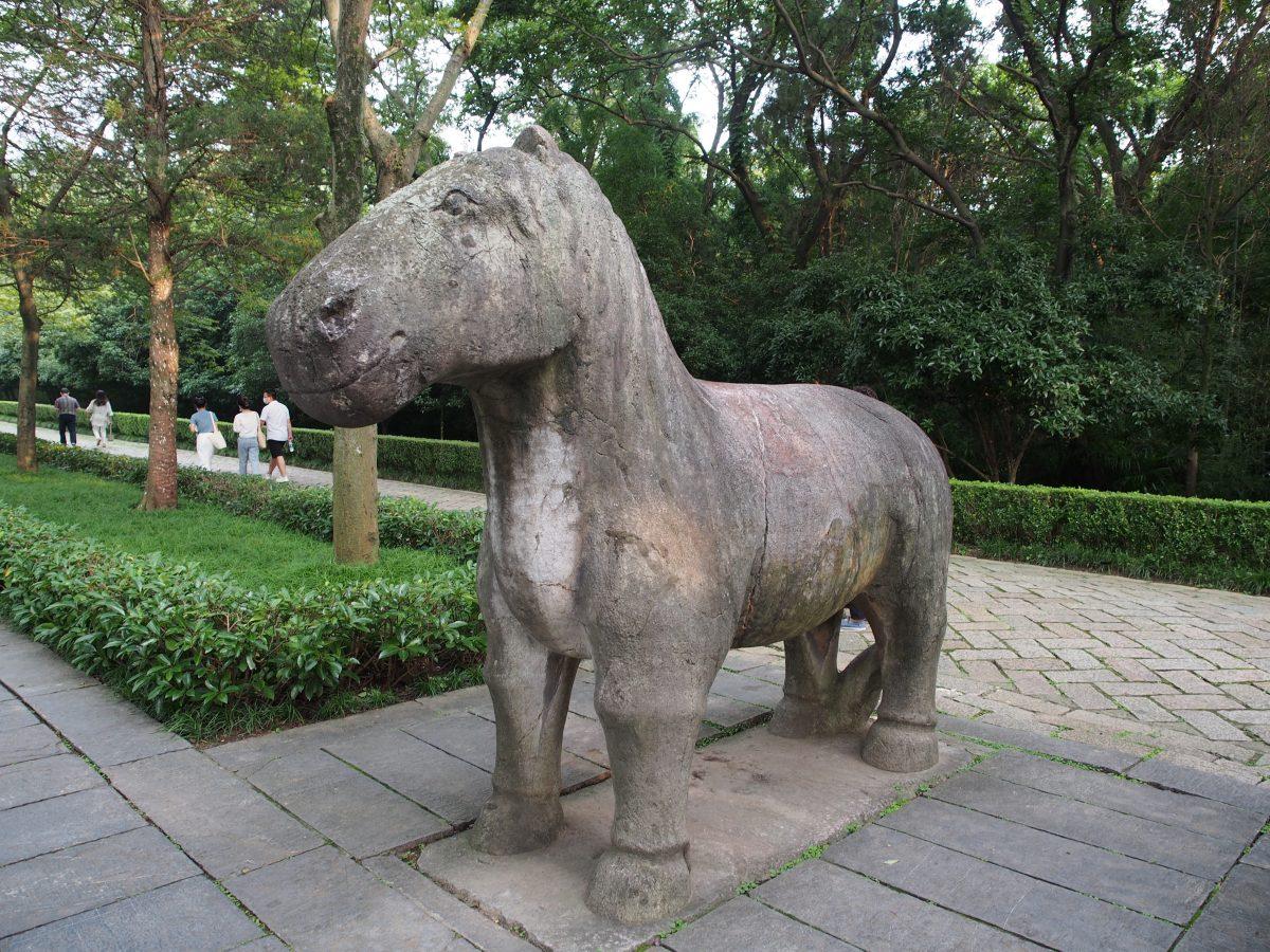 明孝陵·石刻·石马