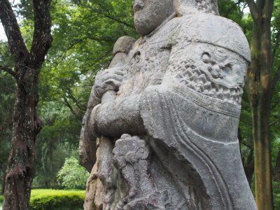 明孝陵·石像生·武士