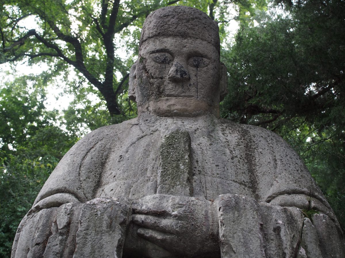 明孝陵·石像生·文官