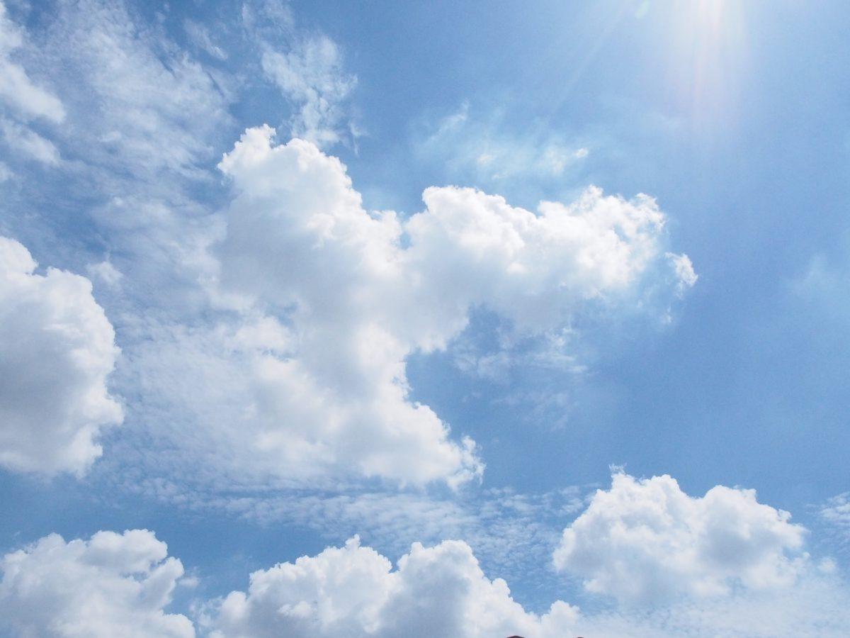 夏季·天空·蓝天白云