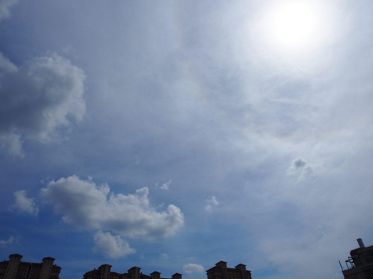 夏季·天象·天空·日晕