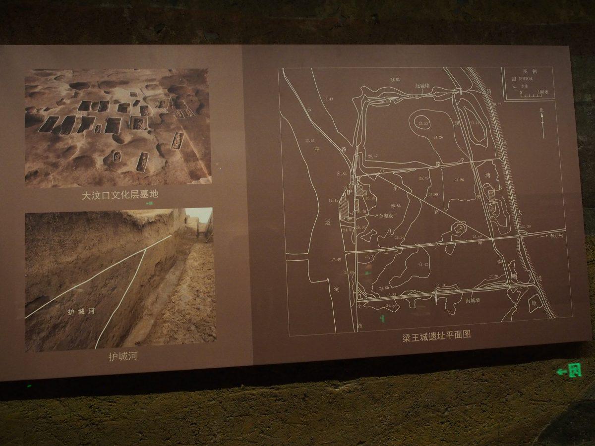梁王城遗址平面图