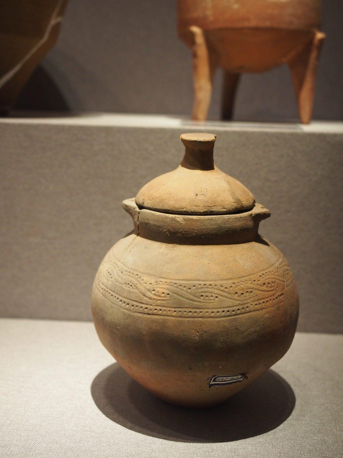 刘林遗址·陶罐