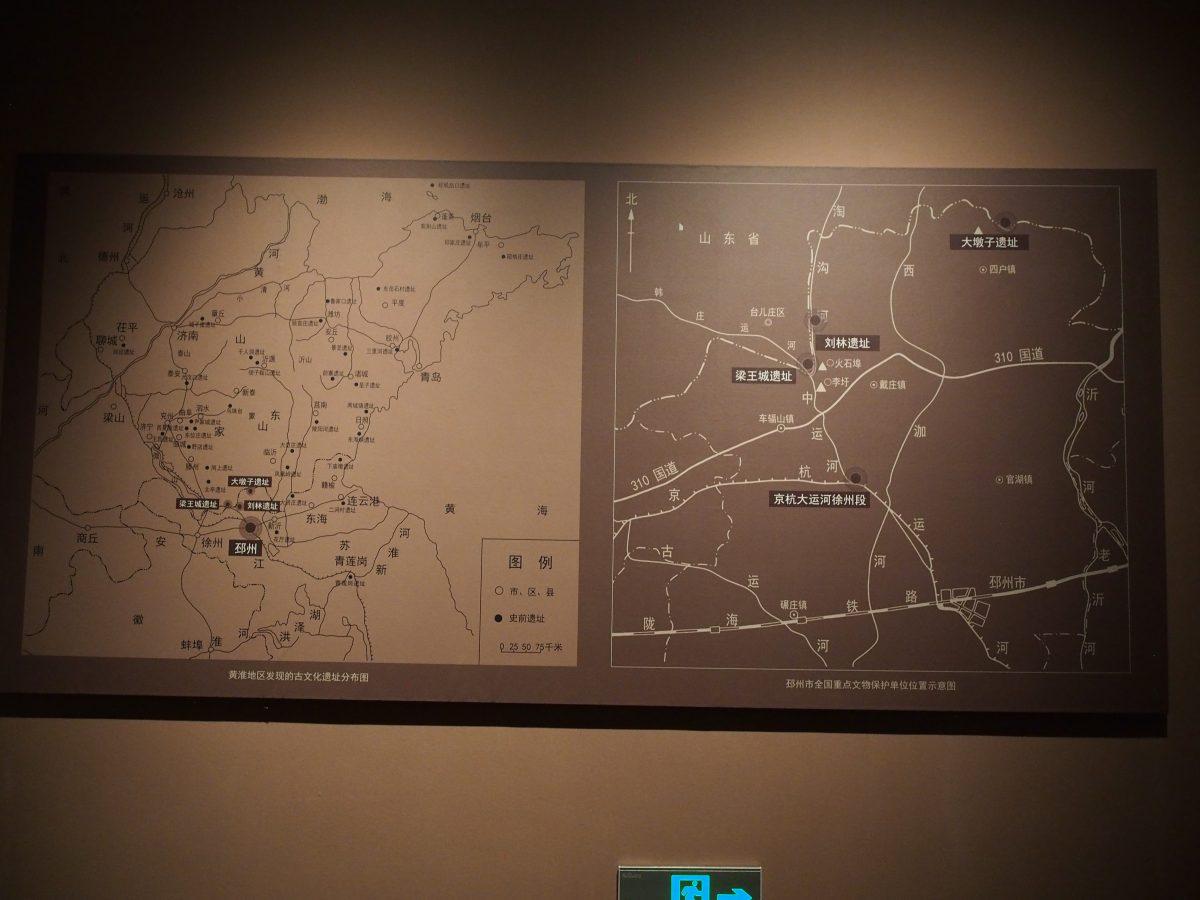 遗址方位图