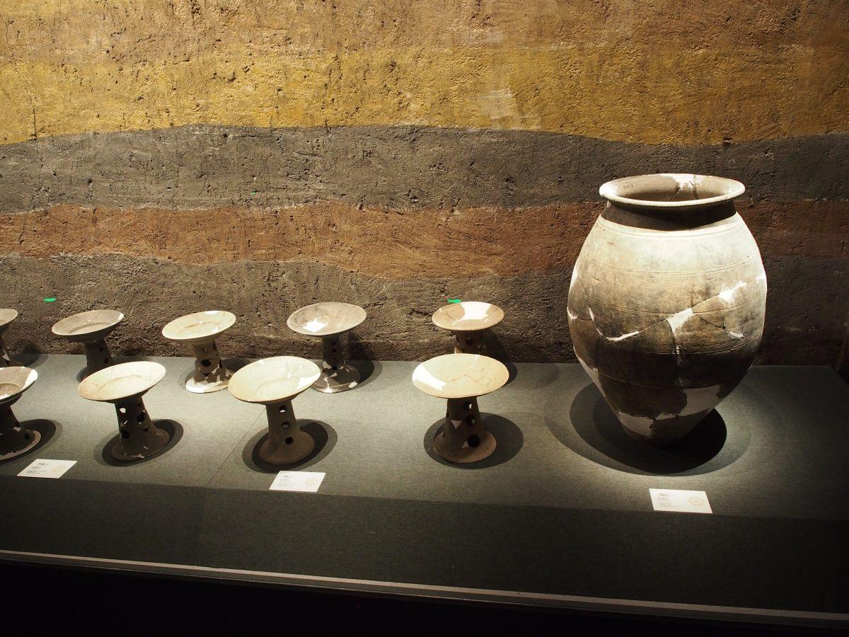 梁王城遗址出土陶器·陶罐·陶豆